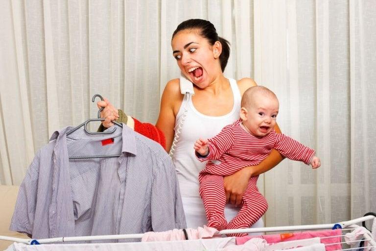 Les mères ont aussi le droit de pleurer de fatigue