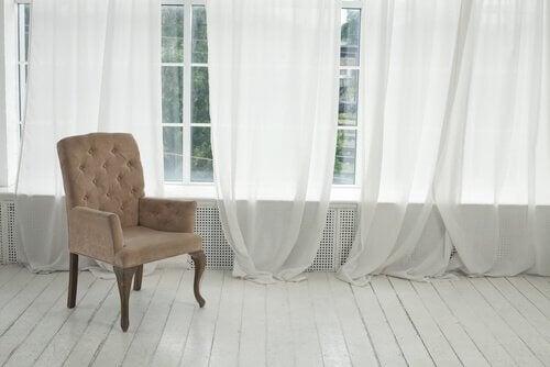 choix du tissu des rideaux