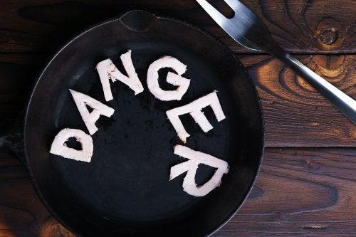 Signes d'avertissement des régimes dangereux