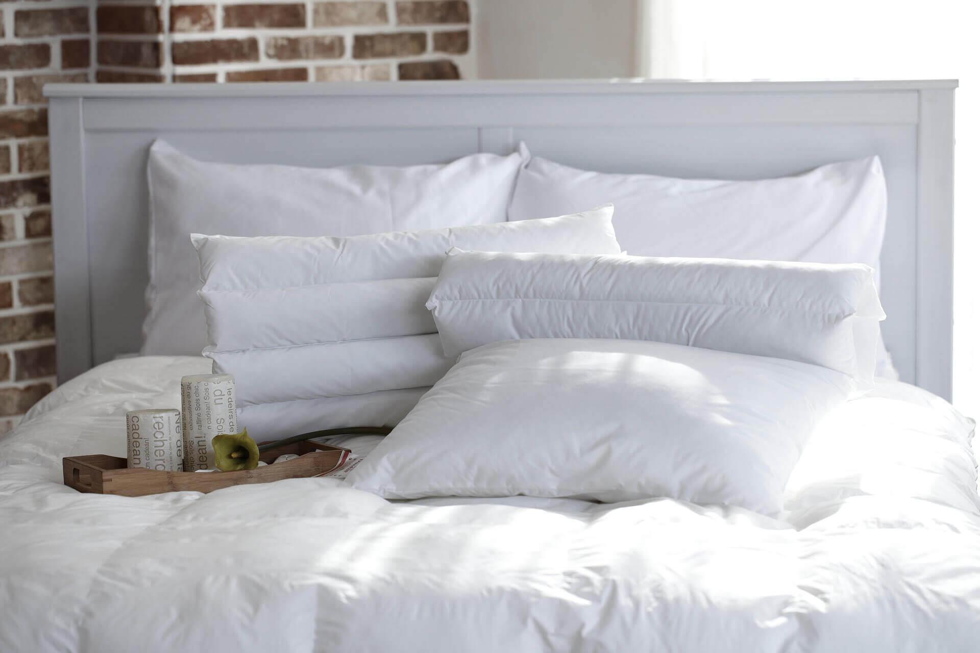 les usentiles de maison à changer régulièrement : les oreillers