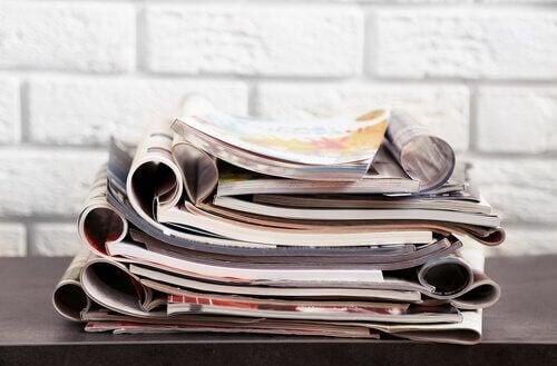 2 idées ingénieuses pour réutiliser de vieux magazines