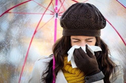 5 conseils pour éviter les rhumes en hiver