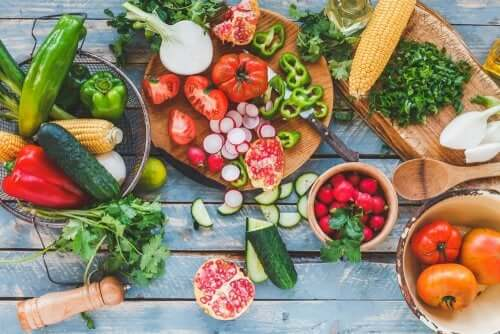 régime méditerranéen et produits de saison