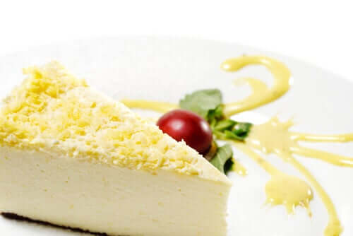 cheesecake au gingembre