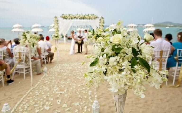 faire la décoration d'un mariage express
