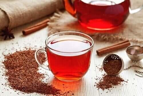 le thé de rooibos pour traiter l'anémie ferriprive