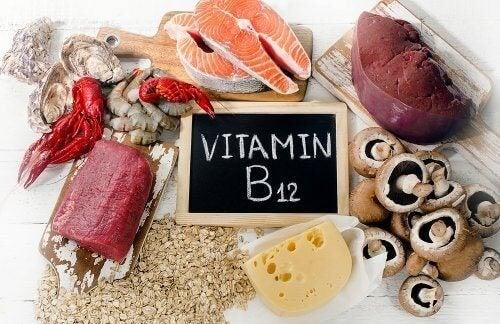 Les aliments qui contiennent de la vitamine B12