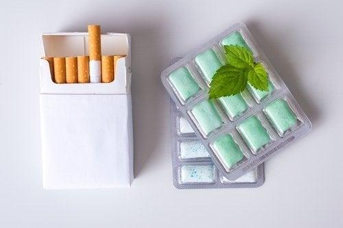 Gommes à la nicotine : concentrations et posologie