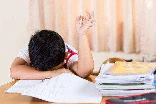 L'anémie chez l'enfant provoque de la fatigue