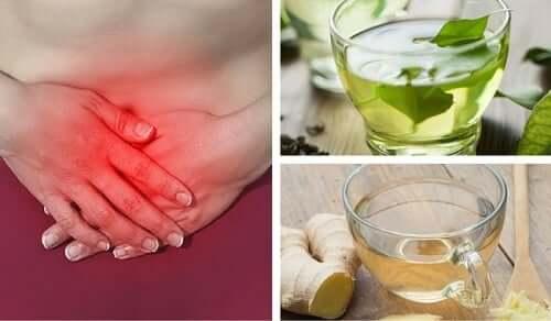 Des infusions et des remèdes naturels contre l'aérophagie