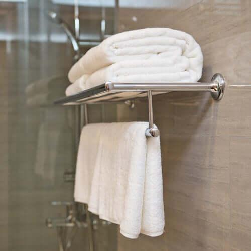 Des serviettes de bain