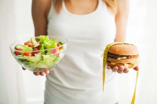 Prévenir l'obésité avec une alimentation saine
