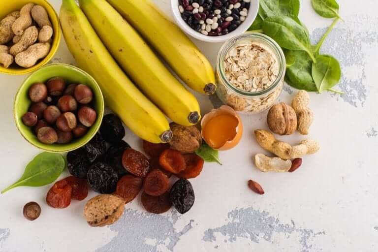 Des aliments contenant du potassium, un des minéraux essentiels pour une bonne santé cardiovasculaire