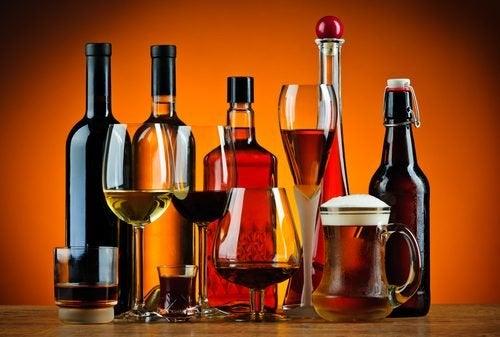 Des boissons alcoolisées