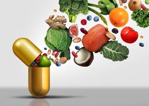 Les vitamines hydrosolubles sous forme de compléments alimentaires
