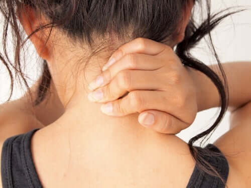 Une femme souffrant de myasthénie grave