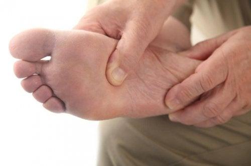 Un pied diabétique