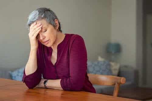 Les symptômes de la ménopause