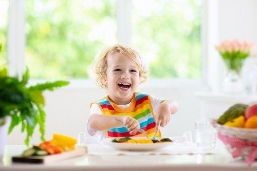 Aliments sains pour les enfants âgés entre 1 et 3 ans