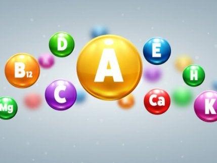 Il existe différents types de vitamines, dont la vitamine E