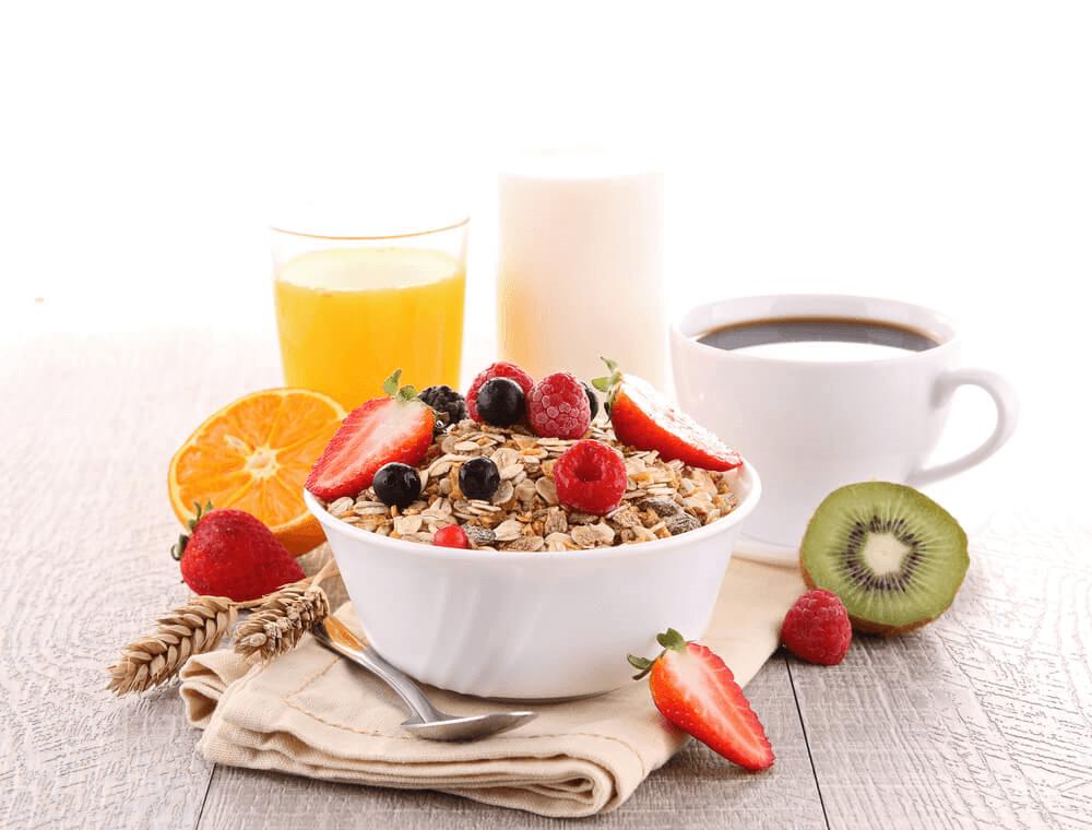 Des idées de petits déjeuners sains