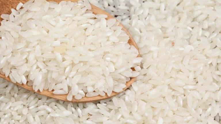Du riz blanc