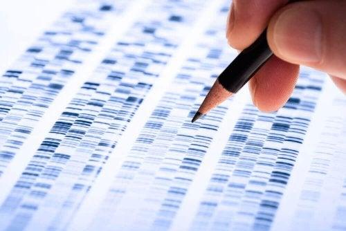Une séquence génétique