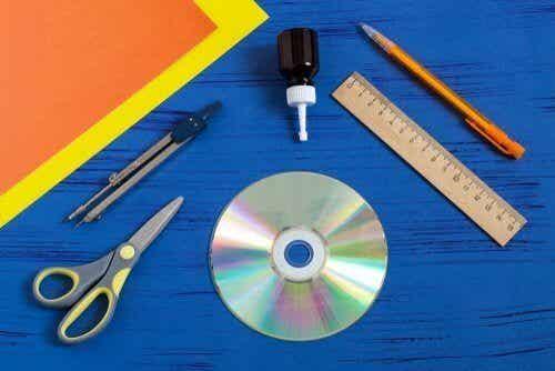 Faites vos propres rideaux avec des disques recyclés