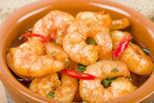 La recettes des boulettes de merlu et crevettes