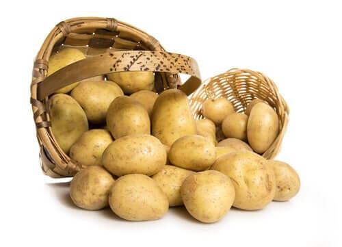 La pomme de terre et l'alimentation saine
