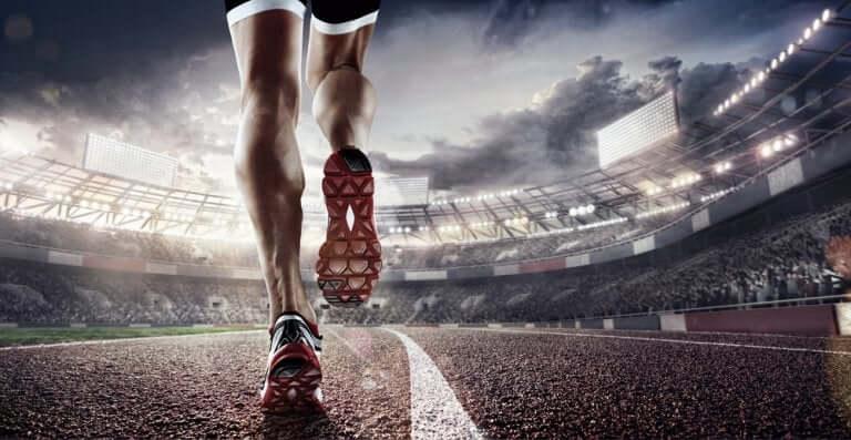 Un sportif qui renforce ses ligaments