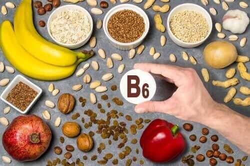 Les aliments contenant de la vitamine B6
