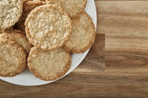 Des biscuits à la crème faits maison