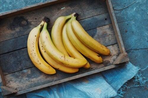 Les bananes contiennent des vitamines du groupe B