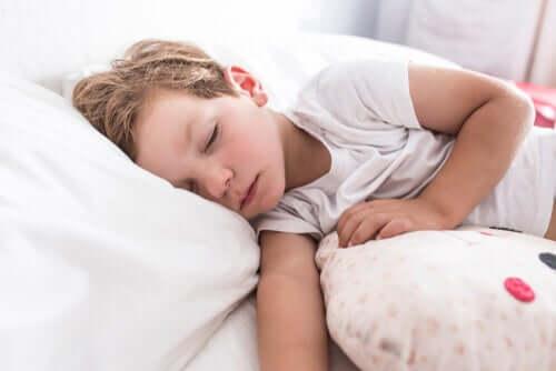 Un enfant qui dort