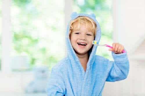 L'hygiène buccale chez les enfants