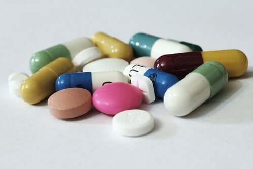Des pilules de metformine