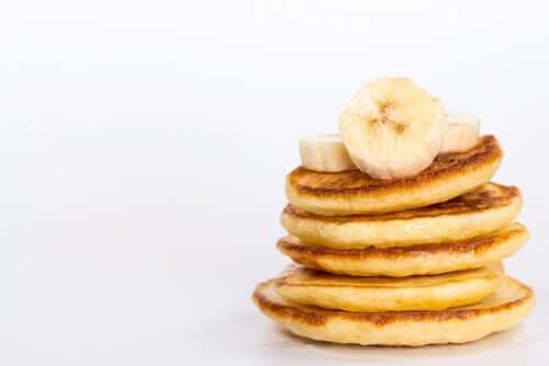Des pancakes à la banane