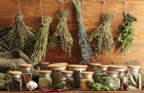 Ajouter des herbes aromatiques au beurre à l'ail