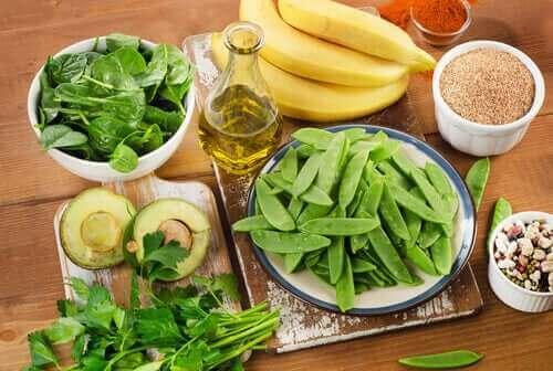 Les légumes riches en vitamine k.