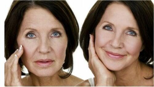 Les effets des symptômes de la ménopause sur la peau