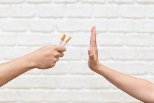 Dire non au tabac.