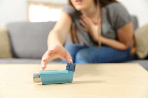 La toux chez les personnes asthmatiques