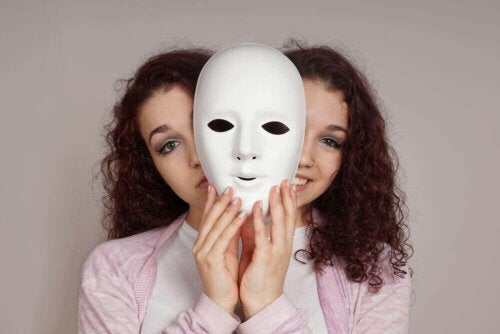 Une femme avec un trouble bipolaire de type 1