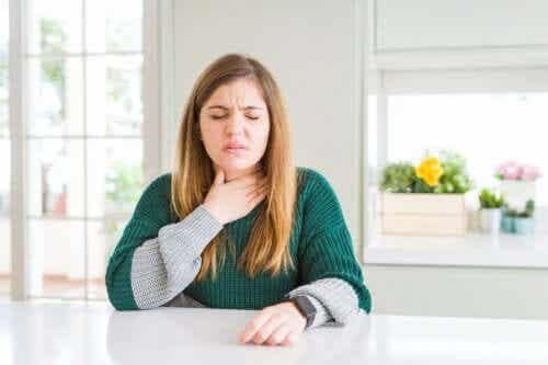 Comment calmer l'irritation de la gorge ?