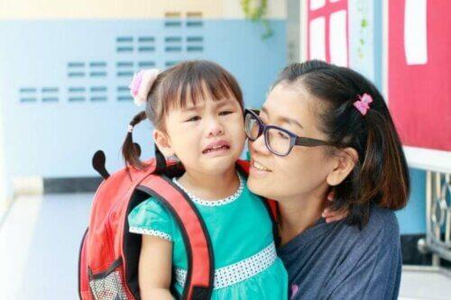 L'adaption des enfants l'école peut être difficile