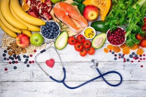 Une alimentation saine et un régime sans gluten