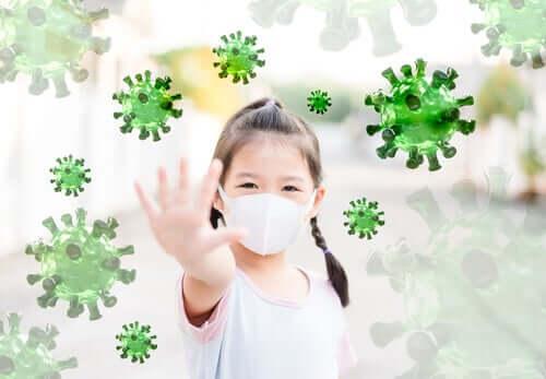 La protection du coronavirus chez les enfants