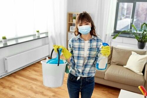 Conseils pour nettoyer et désinfecter la maison