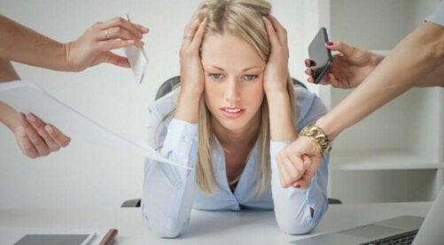 Le stress et la santé de la peau.